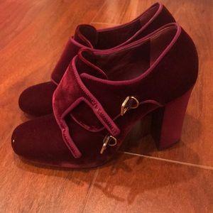 Tory Burch velvet high heels size 9.5M